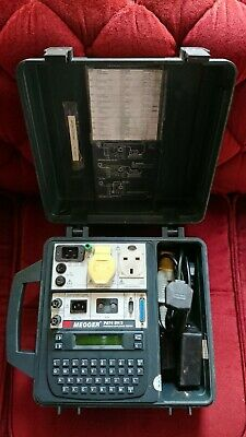 £225 • Buy MEGGER Pat4 DV/3 Pat Tester 110v 240v With User Manual, Cables And Extras