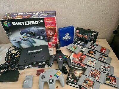 AU264.76 • Buy Nintendo N64 Console, 2 Controllers & 14 Games & More!