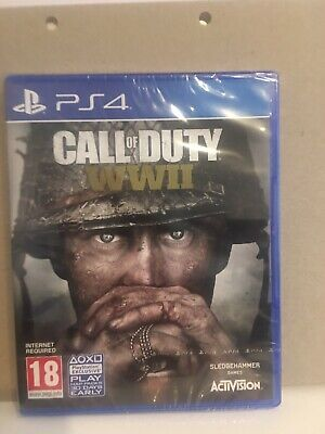 Call Of Duty Ww2 Ps4 • 6.50£