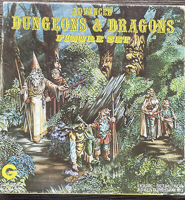 AU126.25 • Buy Rare Advanced Dungeon And Dragons Figure Set 5003 Woodland Adventurers
