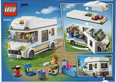 £13 • Buy New! 60283 LEGO City Holiday Camper Van Set With Minifigures 190 Pieces Age 5+