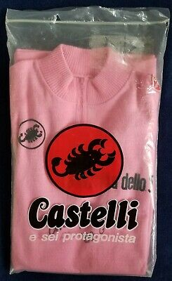 AU3188.17 • Buy ANDY HAMPSTEN - 1988 Giro D'Italia Race Leader Pink Jersey 7-Eleven Cycling Team