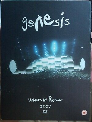 £26.37 • Buy Genesis When In Rome 2007 Rare Dvd Music Concert Tour Phil Collins Live Hits