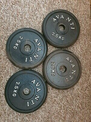 AU20 • Buy 2.5kg Weight Plates, Rubber Edged