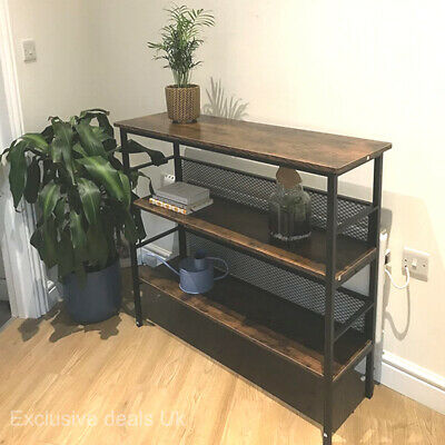 £75.80 • Buy Industrial Style Console Table Hall Entryway Living Room Kitchen Unit Furniture