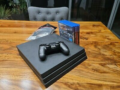 AU286 • Buy Sony PS4 Pro 1TB WITH 4 GAMES