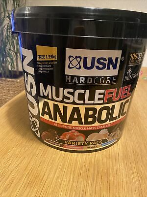 £45 • Buy USN Muscle Fuel Anabolic All In One Muscle Mass Catalyst / Variety Pack - 5.32kg
