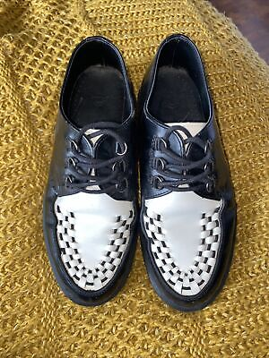 £35 • Buy Dr Martens Black And White Creeper Size Uk 6