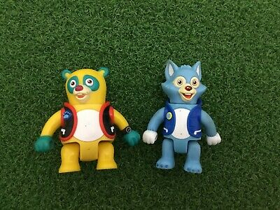 £11.36 • Buy LOT 2 Disney Junior SPECIAL AGENT OSO Poseable PVC Action FIGURES Wolfie 2010