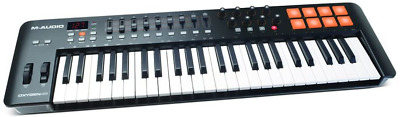 $213.48 • Buy M Audio Oxygen 49 IV   49 Key USB/MIDI Keyboard With 8 Trigger Pads & A Full Of