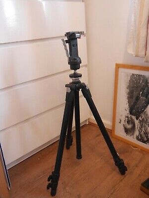 AU141.45 • Buy Manfrotto 055XDB Tripod With 222 Head Good Condition