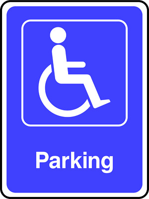 £13.76 • Buy Disabled Parking Sign