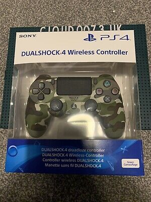 AU137.19 • Buy Official Sony PlayStation Camouflage Camo DualShock 4 V2 PS4 Controller UK CE