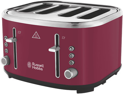 AU59 • Buy NEW Russell Hobbs RHT445ORC Legacy 4 Slice Toaster - Orchid
