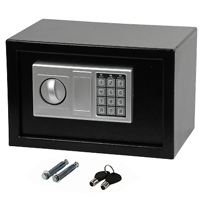 £25.89 • Buy 8.5l Secure Digital Steel Safe Electronic Security Home Office Money Safety Box