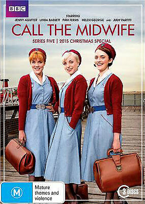 £14.28 • Buy Call The Midwife: Series 5 DVD | 3 Discs | Region 4