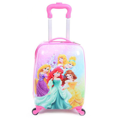 £27.95 • Buy Princess Children Kids Suitcase Holiday Travel Hard Shell Luggage Trolley Bags