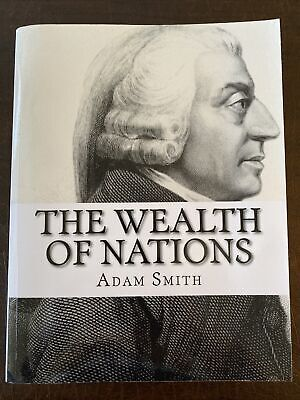 AU11.35 • Buy The Wealth Of Nations By Adam Smith Paperback Book (English)