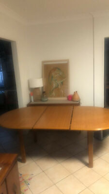 AU400 • Buy Retro CRO Extendable Dining Table And 6 Chairs
