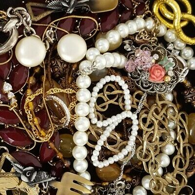 $ CDN60.49 • Buy Vintage Now NOT Junk Drawer Jewelry Lot Unsearched Untested Estate All Wear L900