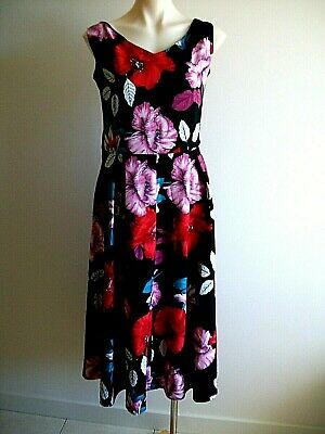 AU15.95 • Buy Lovely Floral Plus Size Dress, By City Chic, Size S, Ex Condition.