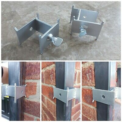 £13.99 • Buy 2x Long Sided DORI BLOCK With 8 Tie Points For 40 & 50 Mm Brick Profile Ploes