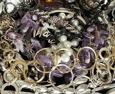 $ CDN66.54 • Buy Vintage Now NOT Junk Drawer Jewelry Lot Unsearched Untested Estate All Wear L901
