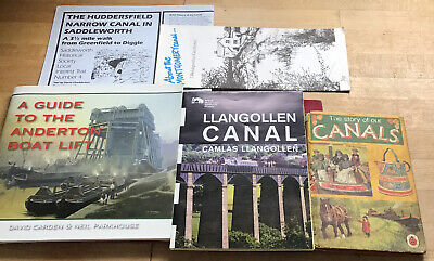 Guide Book To The Anderton Boat Lift +Canal Story Book  + 3 Canal Guides • 5.99£