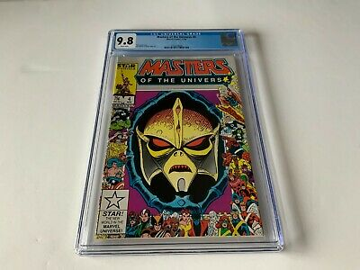 $280.49 • Buy Masters Of The Universe 4 Cgc 9.8 White Pages Marvel Comics 1986 A