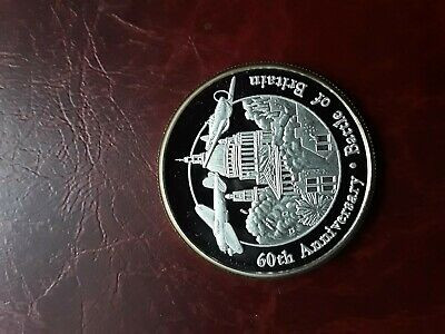 AU19.50 • Buy Turks And Caicos 2000 5 Crowns Silver Coin ( Battle Of Britain )