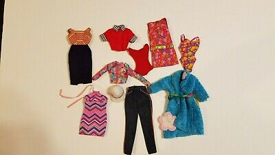$ CDN36.28 • Buy Lot Of Vintage Barbie Original Clothes W/Barbie Labels Cleaned Good Condition
