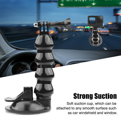 AU15.83 • Buy Accessories Car Mount Holder Suction Cup ABS Extension For GOPRO Hero 9 Black