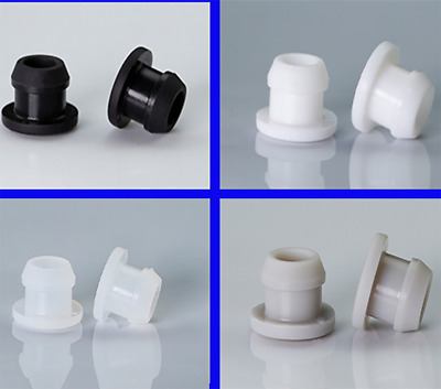 $ CDN6.16 • Buy Silicone Rubber Blanking End Caps Snap-on Hole Plugs Pipe Tube Inserts Ø2.5~14mm