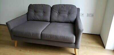 £99 • Buy Used Clean 2 Seater Sofa Good Condition At Bargain Price, Second Hand Low Price