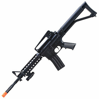 $60.78 • Buy M-16A Spring Powered Airsoft Gun Rifle With Extra Parts .