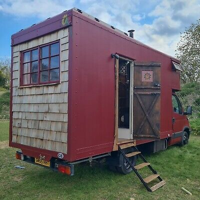 £15600 • Buy Unique Campervan, Iveco Daily Luton 3.5t, Full Year MOT, Off Grid Tiny Home