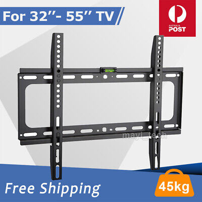 AU13.59 • Buy Slim TV Wall Bracket Mount 32 40 42 46 47 50 55 Inch Plasma LCD LED Monitor Flat