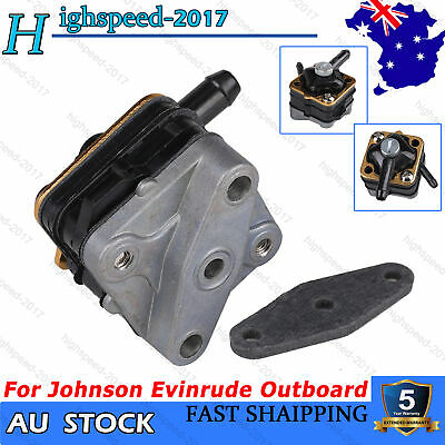 AU26.59 • Buy Fuel Pump For Johnson Evinrude Outboard 397839 6HP 8HP 9.9HP 15HP Motor 1981-92