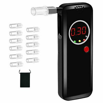 £29.99 • Buy HONGXIAN Breathalyzer,Portable Alcohol Tester With Digital LCD Screen,Profess...