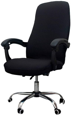AU18.79 • Buy Melaluxe Office Chair Cover - Universal Stretch Desk Chair Cover, Computer Chair