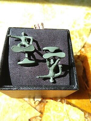 £39.95 • Buy Paul Smith - Cufflinks - Green - Toy Soldiers - New In Box