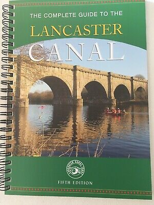 Complete Guide To The Lancaster Canal Map Book • 7£