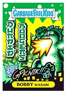 $0.99 • Buy NFT Garbage Pail Kids Food Fight 4a BOBBY Wasabi Artist Signature Card #51/103