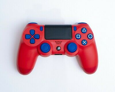 AU120 • Buy Sony Playstation PS4 PS5 Dualshock 4 V2 Luffy Red Custom Limited Controller New