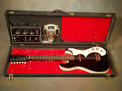 $ CDN646.92 • Buy 1960's Silvertone Sears Danelectro Electric Guitar & Tube Amp-In Case No Reserve