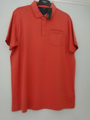 £12.99 • Buy M&s Marks & Spencer Autograph Polo T-shirt Top Uk Size L