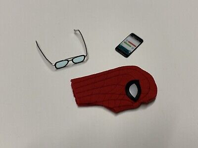 $ CDN25.18 • Buy Hot Toys Spiderman Far From Home MMS542 Upgraded Suit 1/6 Glasses Smart Phone