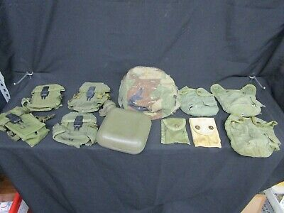 $ CDN25.99 • Buy Lot Of Vintage Military Gear - Small Arms Cases, 2Qt Canteen, 1Qt Covers & More!