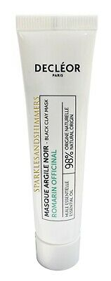 Decleor Romarin Officinal Rosemary BLACK CLAY Face MASK 15ml Blemishes/Spots • 7.99£