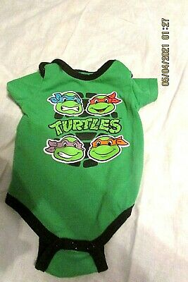 £7.24 • Buy Infant's Ninja Turtle One Piece - Size 3-6 Months